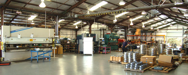 Weldmac's sheet metal shop has the capabilities to handle both high precision and high volume jobs.